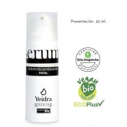 Sérum regenerador BIO 30 ml. Natural y Ecológico. Certificado ecológico.