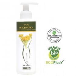 Loción anticelulítica BIO. Natural y Ecológica. Certificado vegano y ecológico.