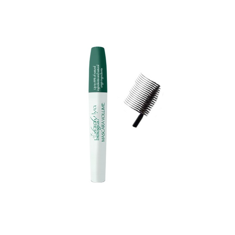 Extra-volume mascara. Eye Liner. Organic and Natural. Certified organic cosmetic.