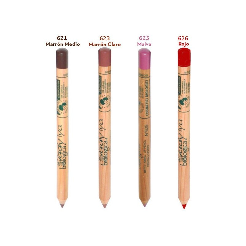Lip Liner. Organic and Natural. Certified organic cosmetic.