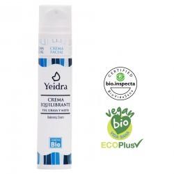 Crema equilibrante BIO. Natural y Ecológica. Certificado vegano y ecológico.
