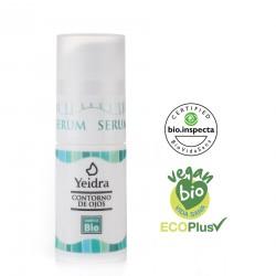 Sérum contorno de ojos BIO. Natural y Ecológico. Certificado vegano y ecológico.