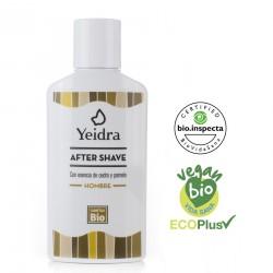 After Shave BIO. Natural y Ecológico. Certificado vegano y ecológico.